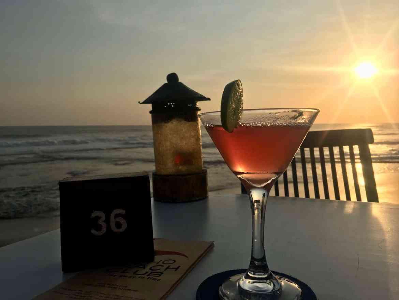 Echo Beach Club Canggu Sunset | Best Bali Sunset