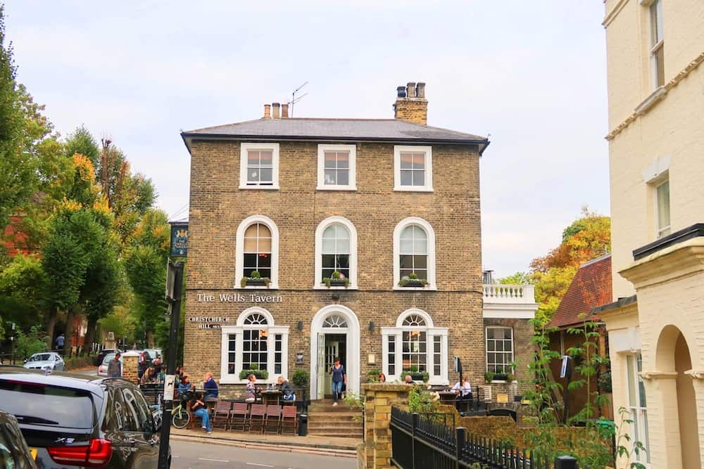 Pubs in Hampstead, The Wells Tavern Hampstead