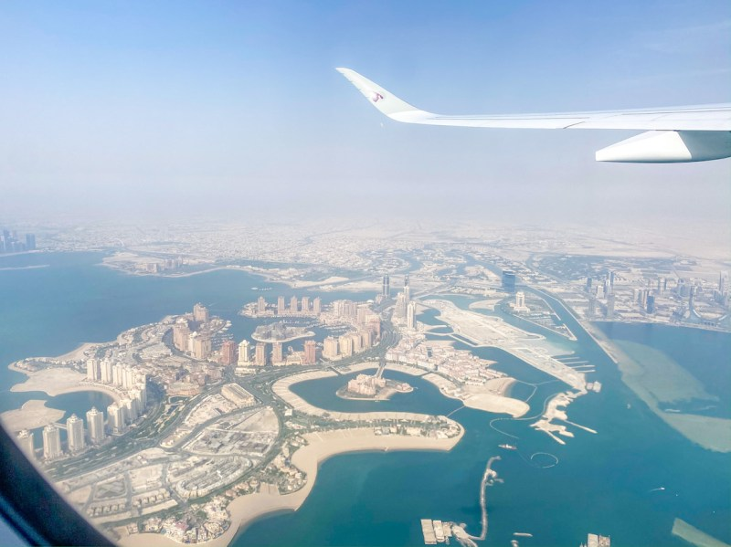 flying during pandemic, Qatar Airways review