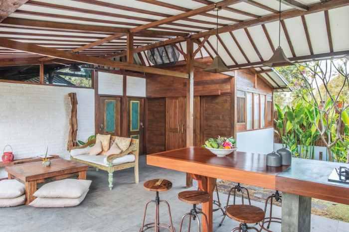 Gili Air Villas, Villa Bayu Rimba Villas inside