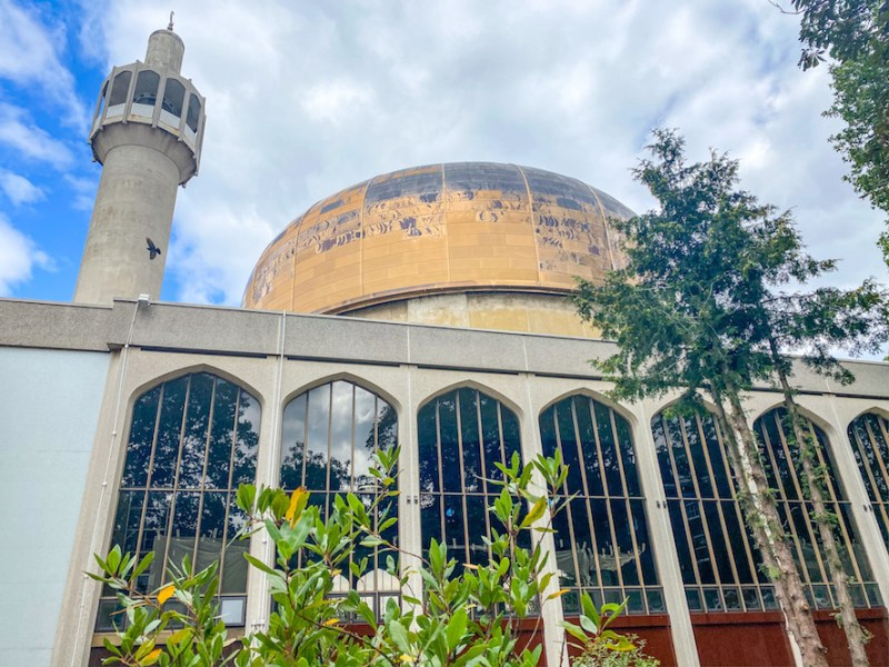 arab areas in London, london central mosque