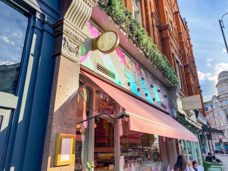 arab areas in London, El&N cafe knightsbridge