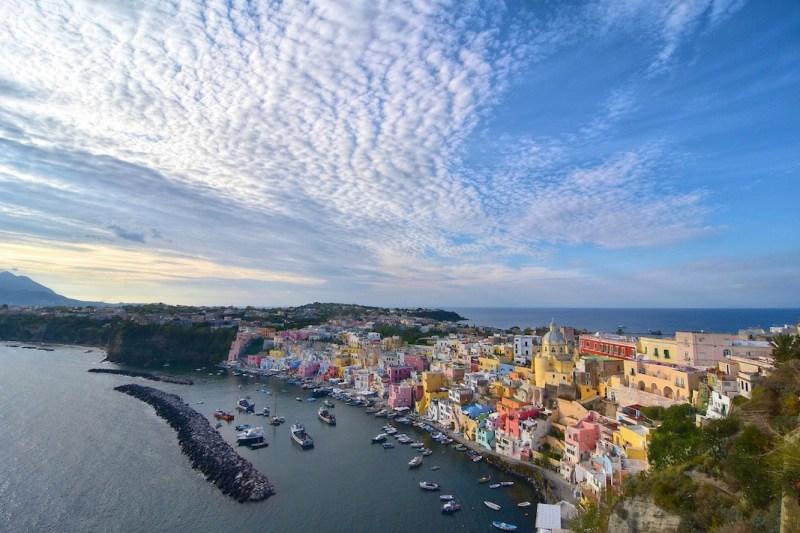 best hidden gems in Europe, procida island italy