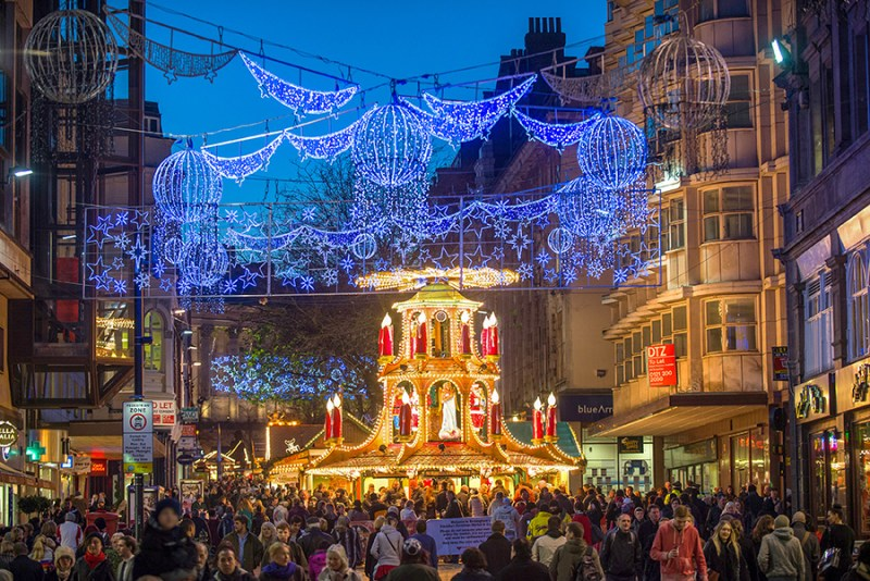 day trips from London in Winter, Birmingham Christmas Market