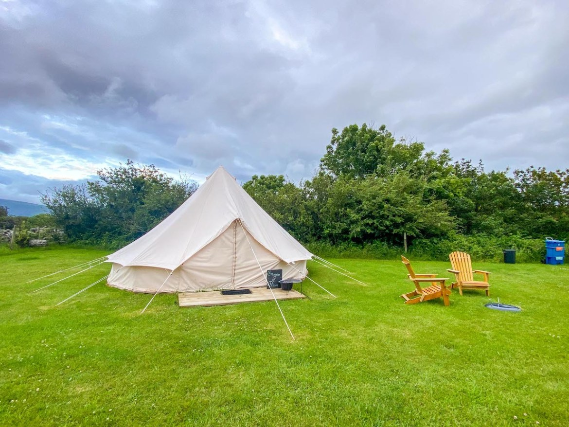 glamping pods North Wales