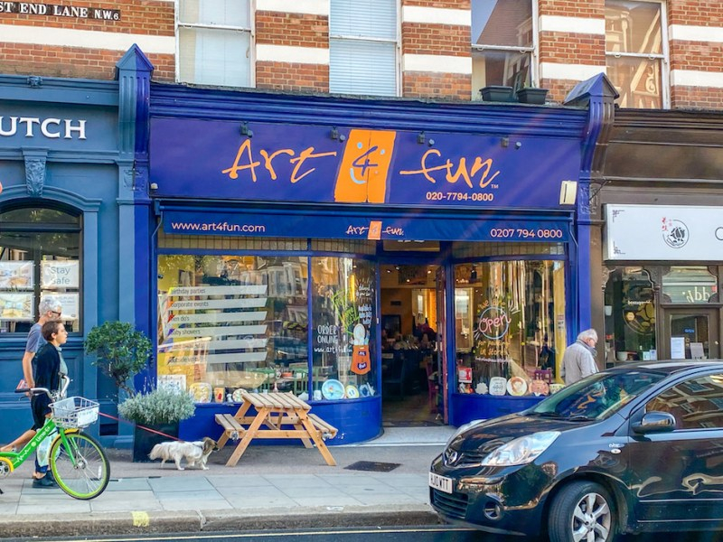 Art 4 Fun Cafe, Cafes in West Hampstead
