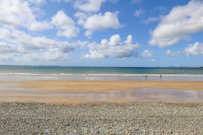 Wales road trip, Newgale beach