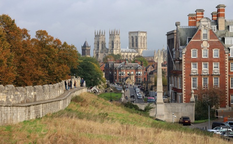 day trips from London in winter, York