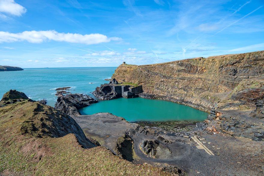 Blue Lagoon, Wales Road Trip
