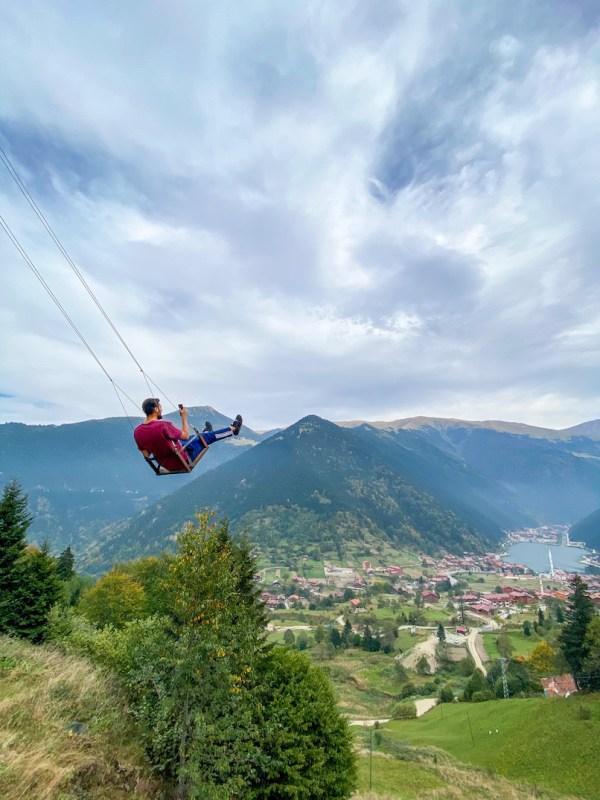 things to do in Uzungöl, Uzungöl Swing