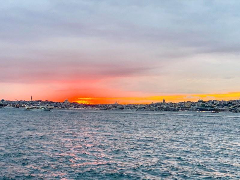 things to do in Uskudar, Uskudar Sunset