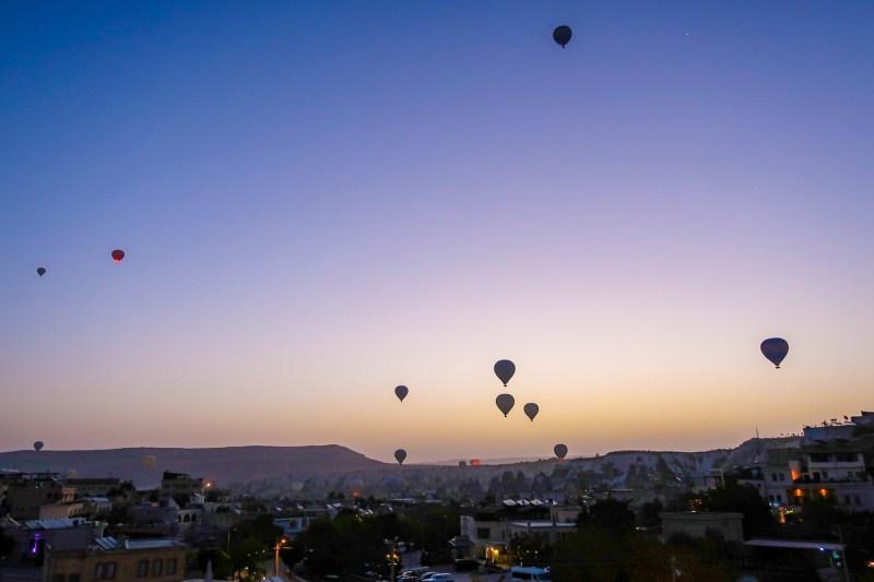 Cappadocia Itinerary, Sunrise Balloons