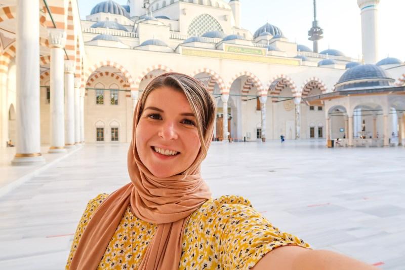 Camlica Mosque, Ellie Quinn