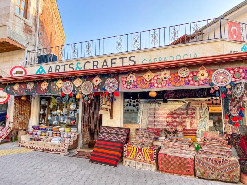 Cappadocia Itinerary, carpet shops Goreme Cappadocia