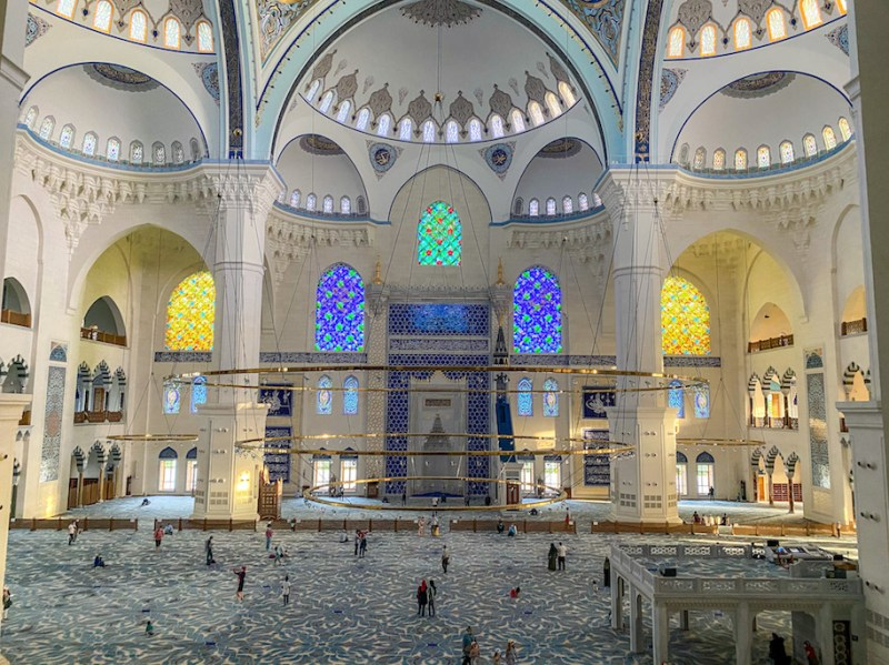 inside Camlica Mosque, istanbul itinerary 4 days, istanbul 4 day itinerary, 4 days in Istanbul