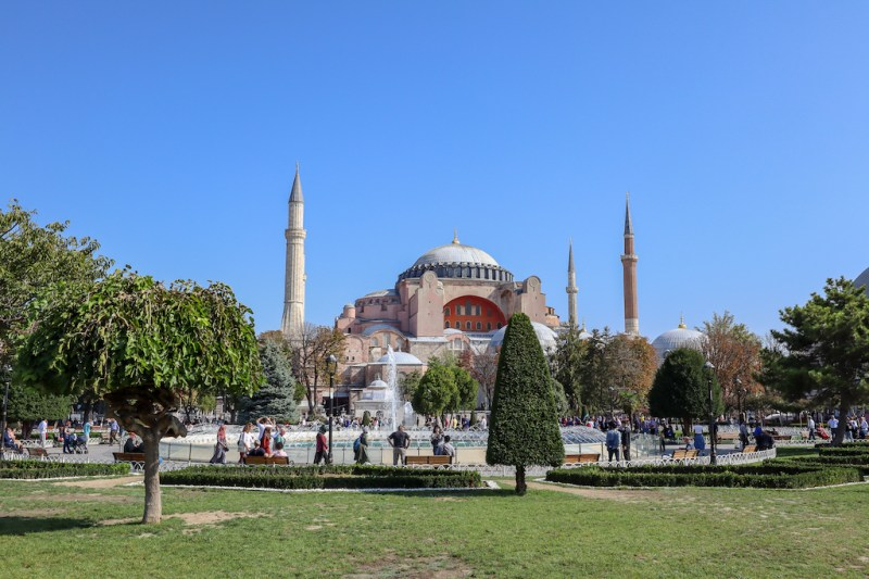 Hagia Sophia, istanbul itinerary 4 days, istanbul 4 day itinerary, 4 days in Istanbul