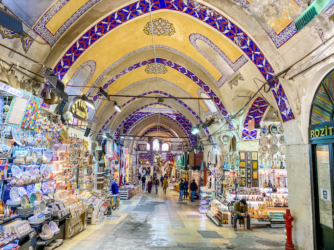 Grand Bazaar, istanbul itinerary 4 days, istanbul 4 day itinerary, 4 days in Istanbul
