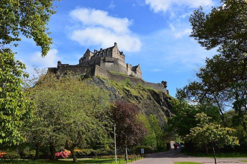 UK staycation ideas Edinburgh