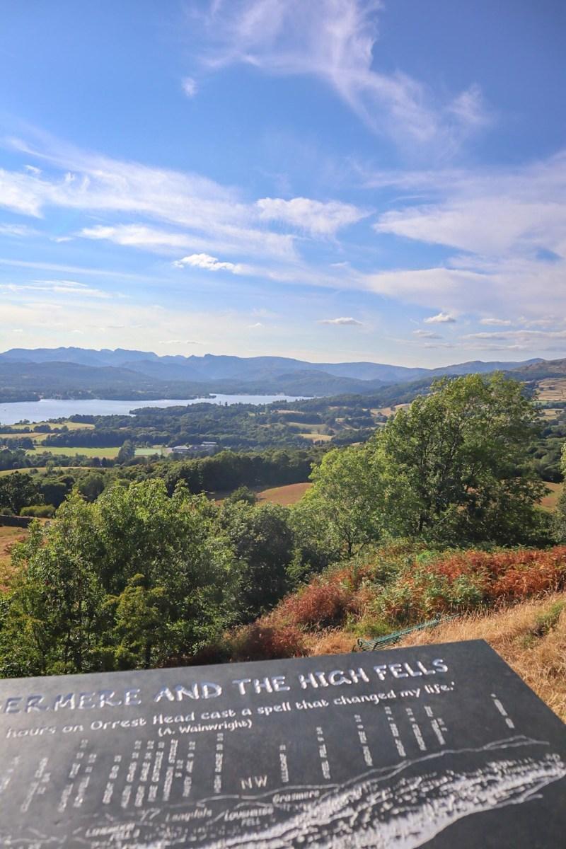 Orrest Head Walk, Orrest Head Viewpoint