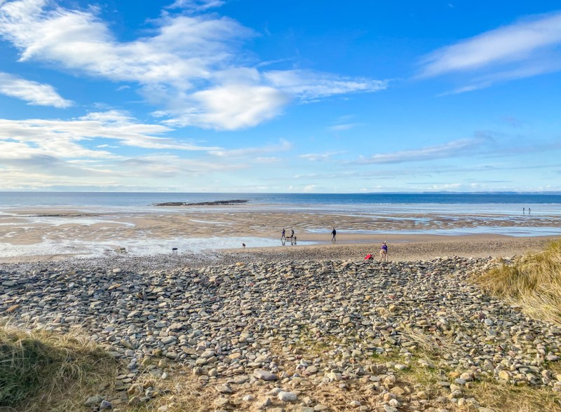 best time to visit Wales, beach in winter