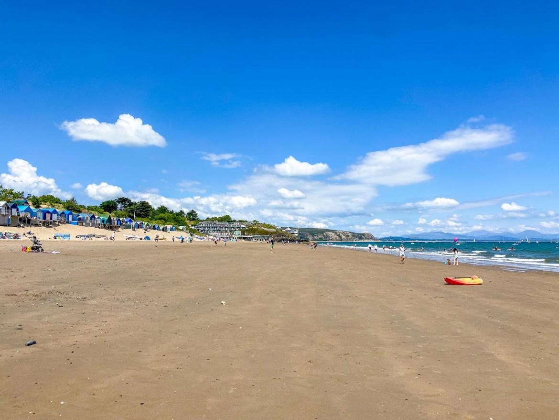 Staycation in Wales, Abersoch Beach