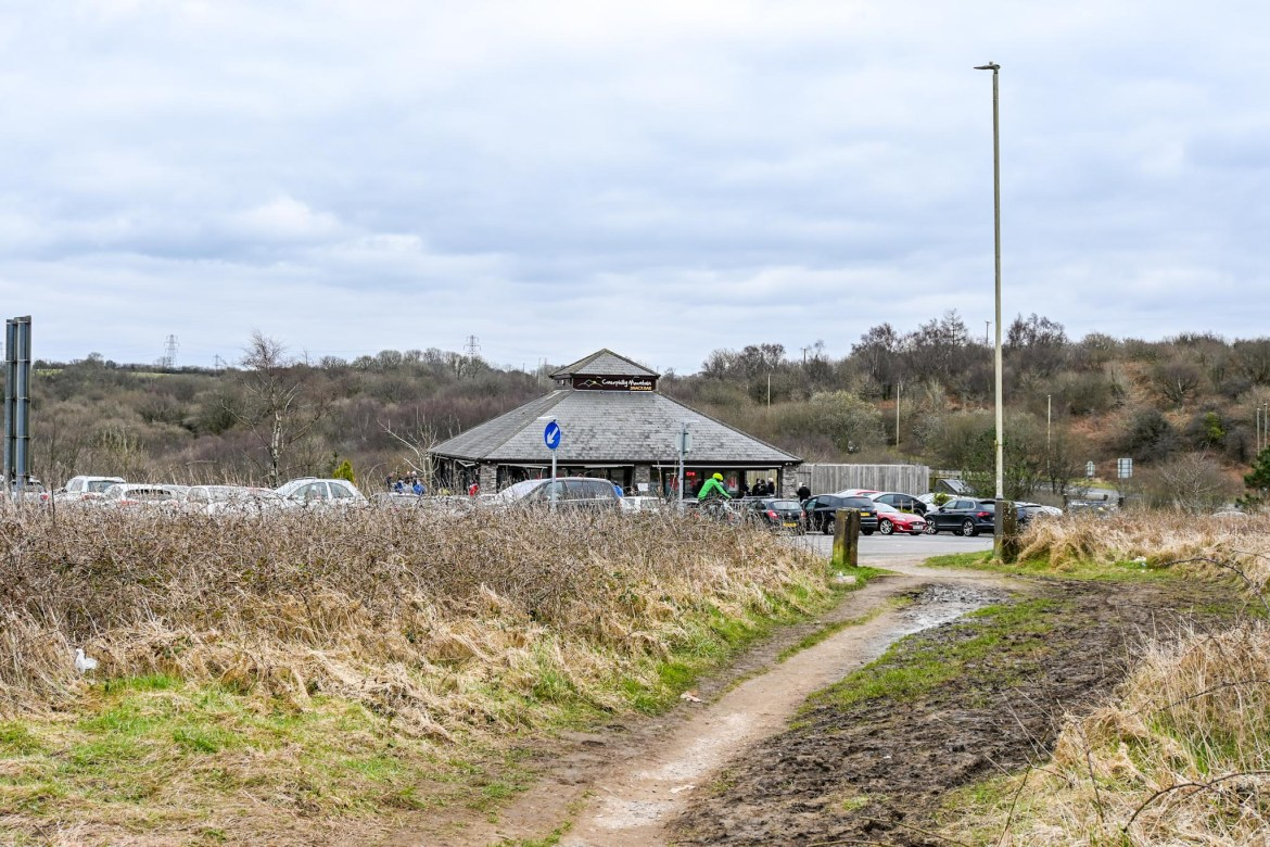 Caerphilly Mountain Snack Bar and Parking