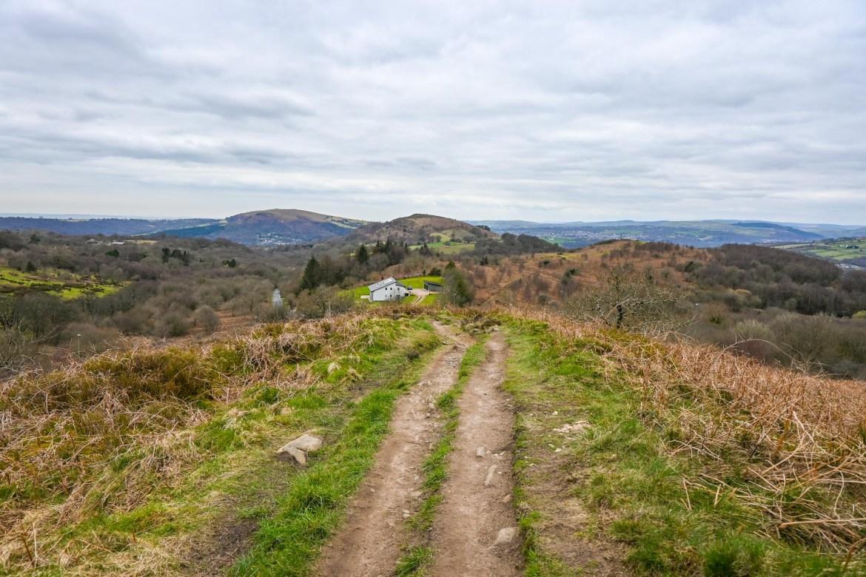 Caerphilly Mountain Walk track