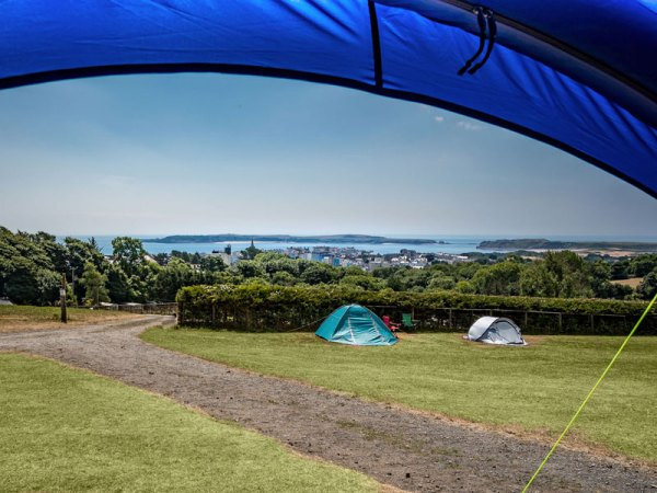 Meadow Farm Campsite near Tenby