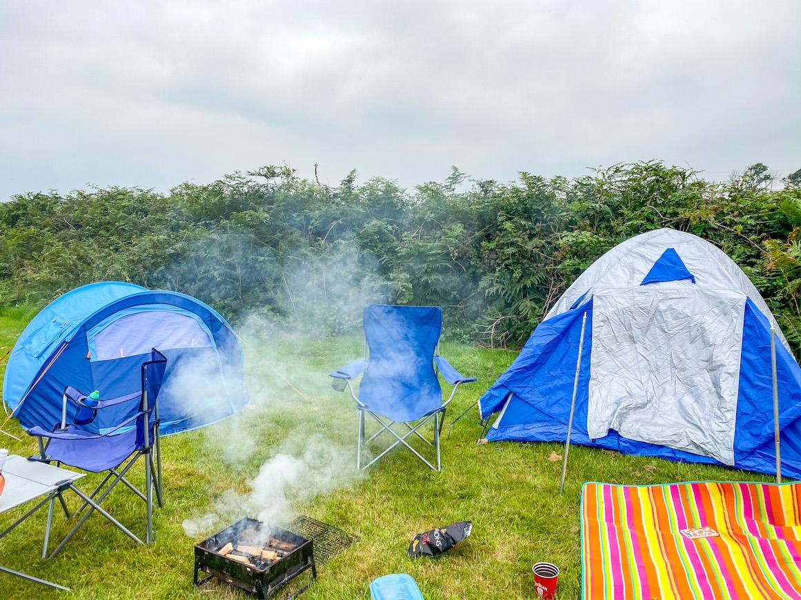 Campsites near Tenby