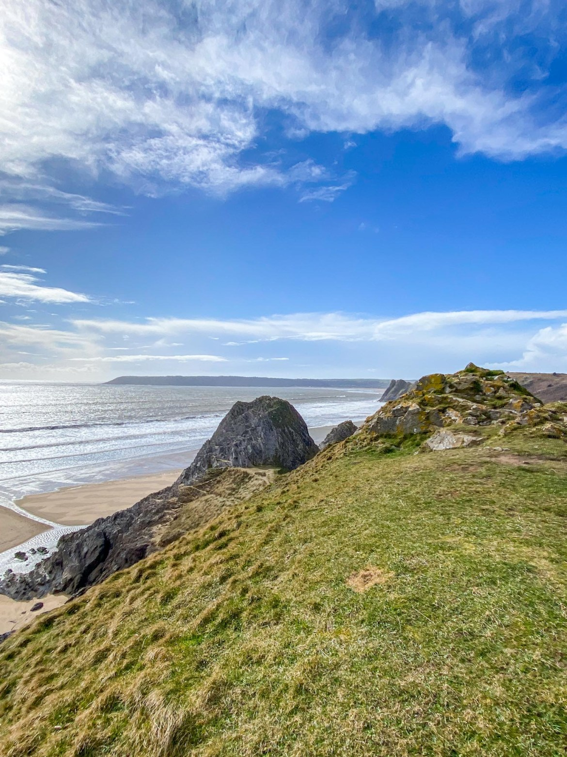 Three Cliff Bay View