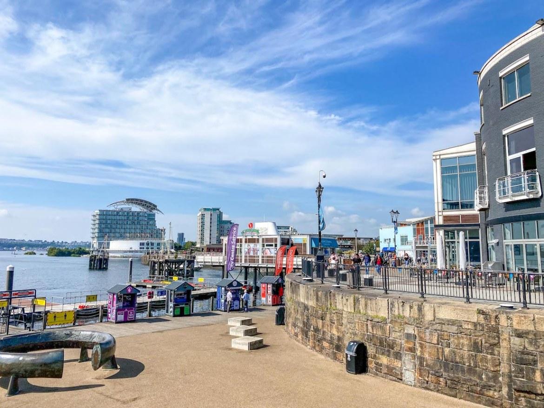 South Wales itinerary, Mermaid Quay Cardiff Bay
