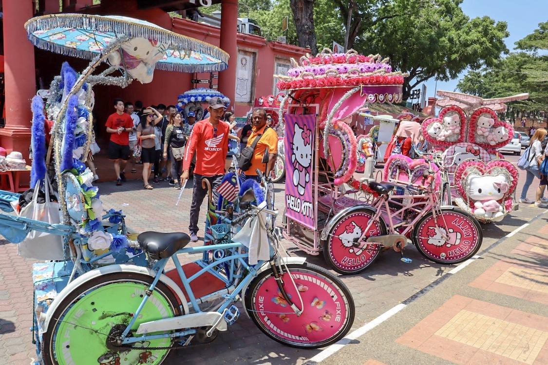 Melaka itinerary, Melaka Tricycles