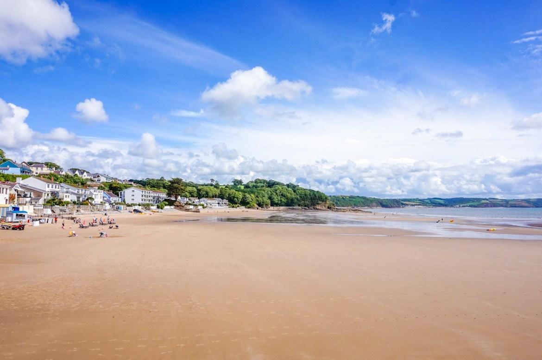 Saundersfoot Beach, 1 week Wales itinerary