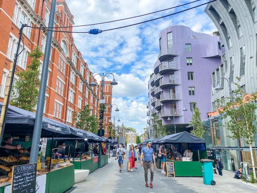 Citadines Islington Review, Islington Square