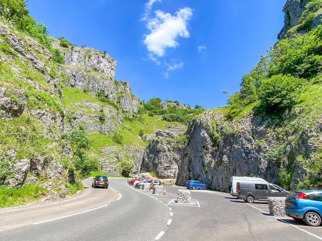 Cheddar Gorge car park