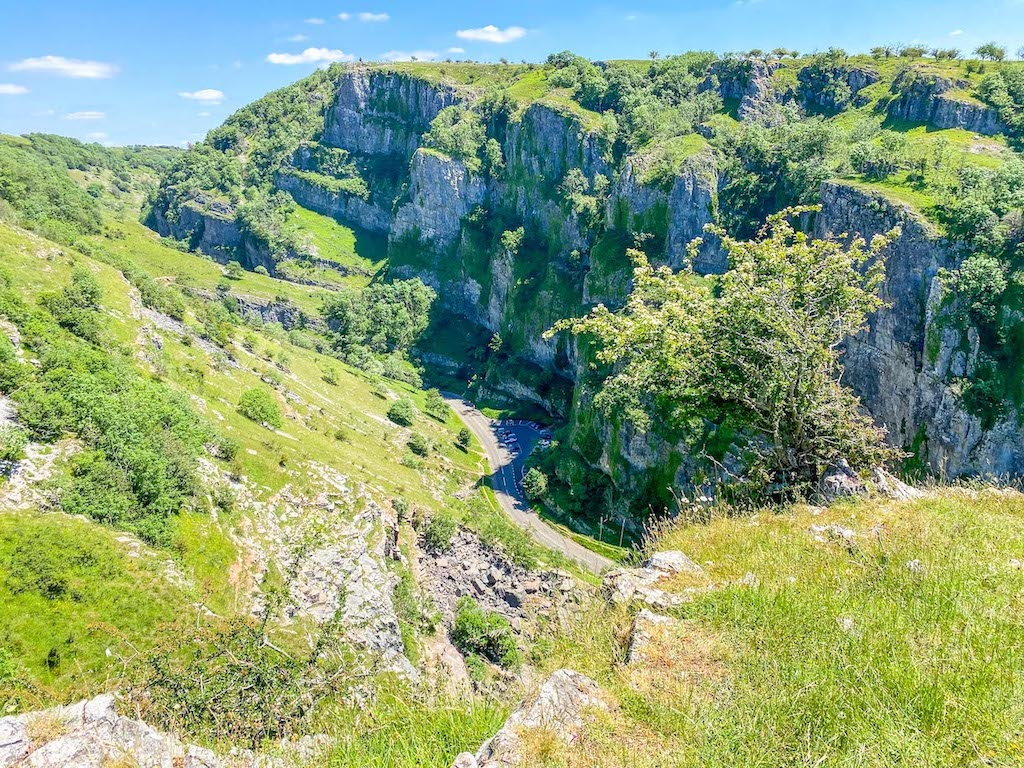 Cheddar Gorge Viewpoint and Walk