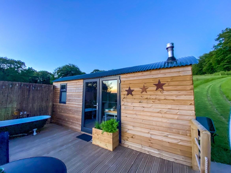 Royal Oak Farm Devon Stargazing Cabin