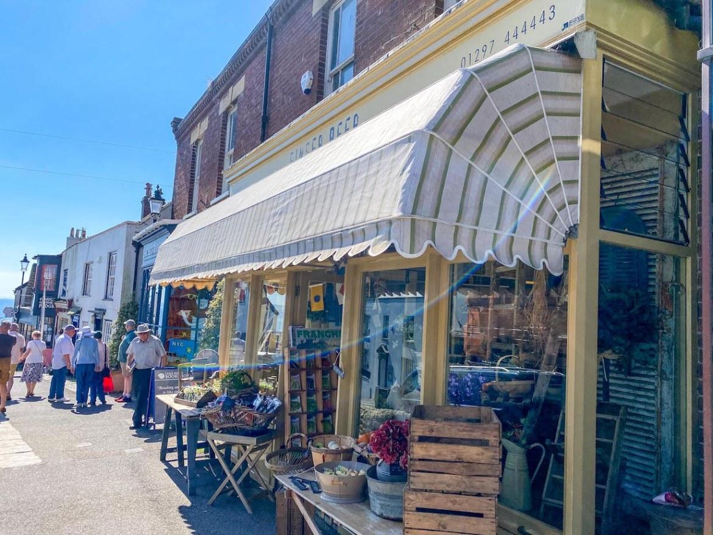 Things to do in Lyme Regis, Lyme Regis shops