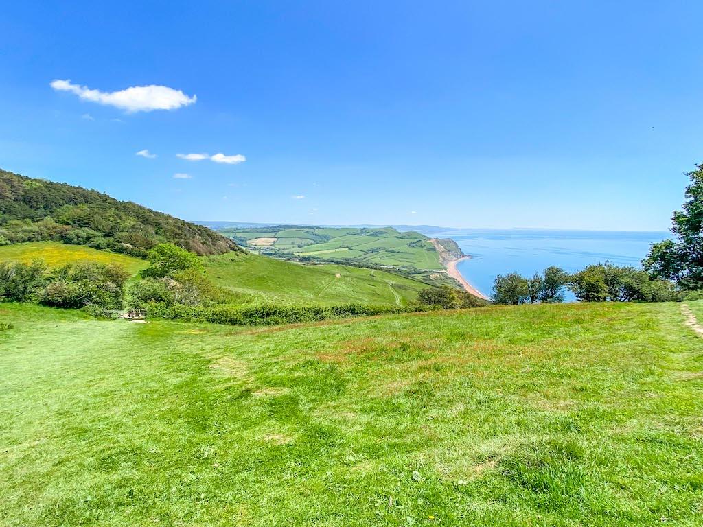 Golden Cap Coastal Walk from Seatown