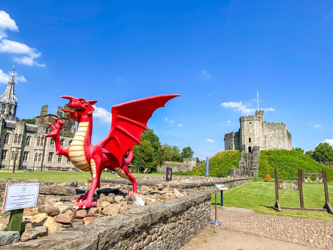 3 days in Wales, Cardiff Castle
