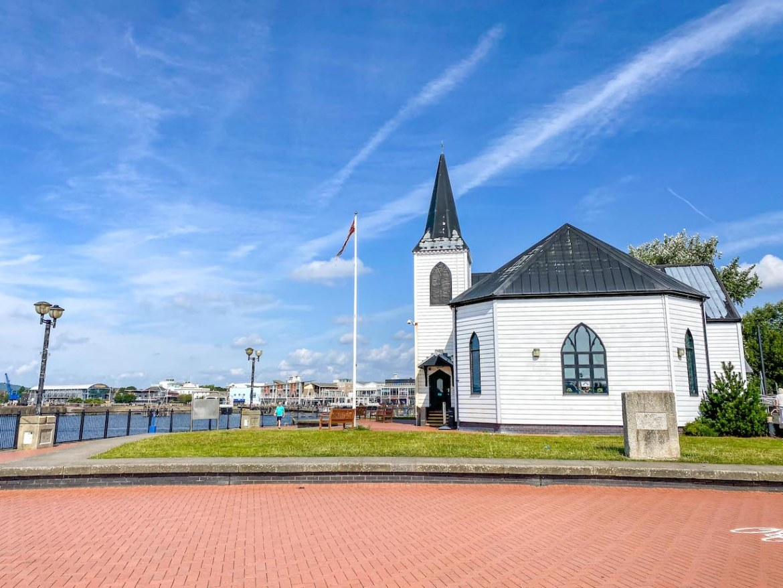 Cardiff day trip from London, Norwegian Church