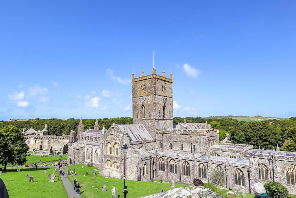 St Davids Cathedral, 1 week Wales itinerary