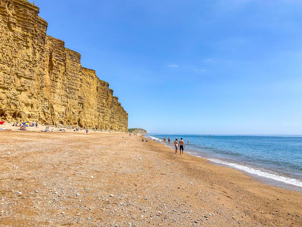 Cornwall Road Trip from London, west Bay Dorset