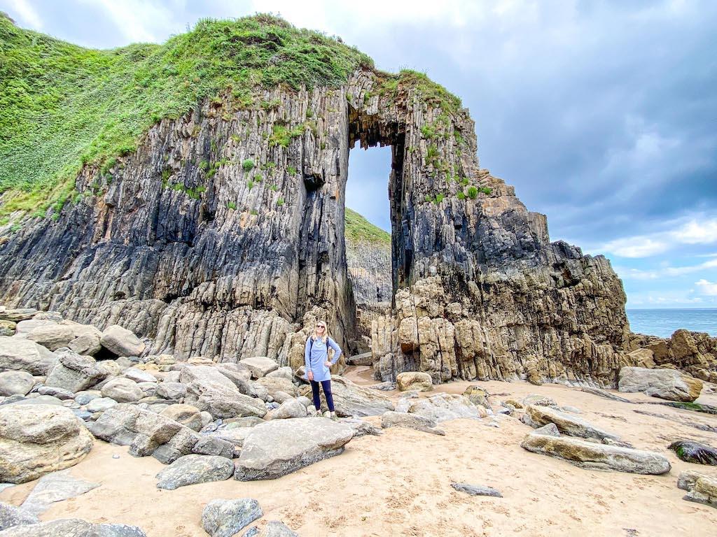 Church Door Cove Door in Cliffs