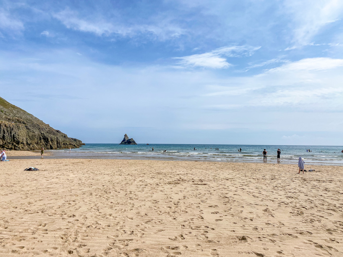 Best beaches in Pembrokeshire, Broad Haven South Beach