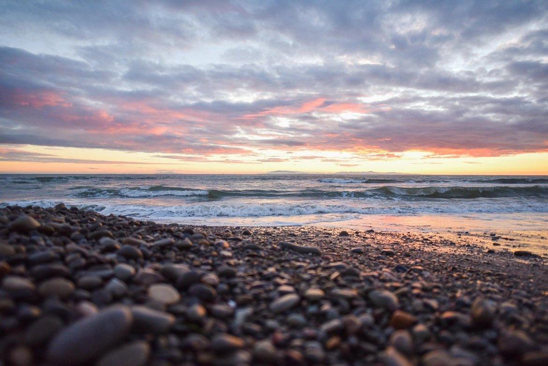 beaches near Cardiff, Pebble Beach