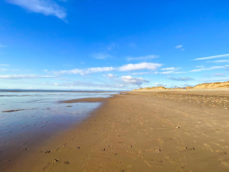 beaches near Cardiff, Sker Beach, Kenfig National Park