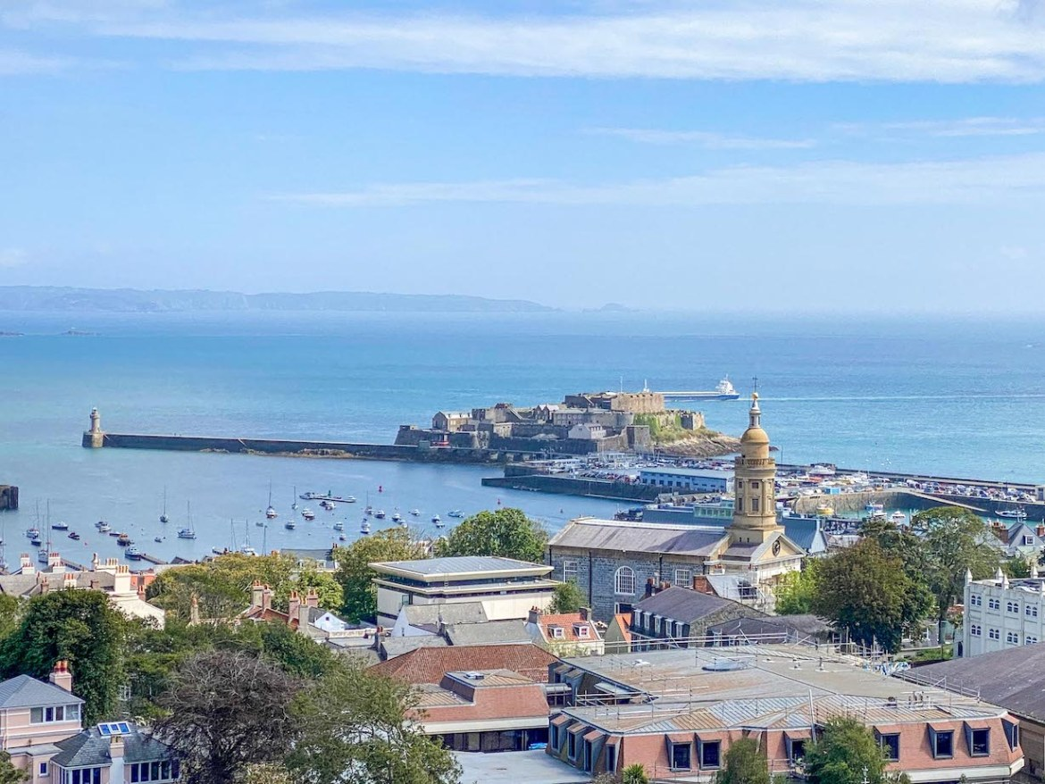 Things to do on Guernsey, View from Victoria Tower Castle Cornet