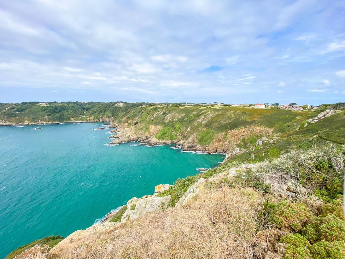 Things to do on Guernsey, Petit Bay Coastal Hike View