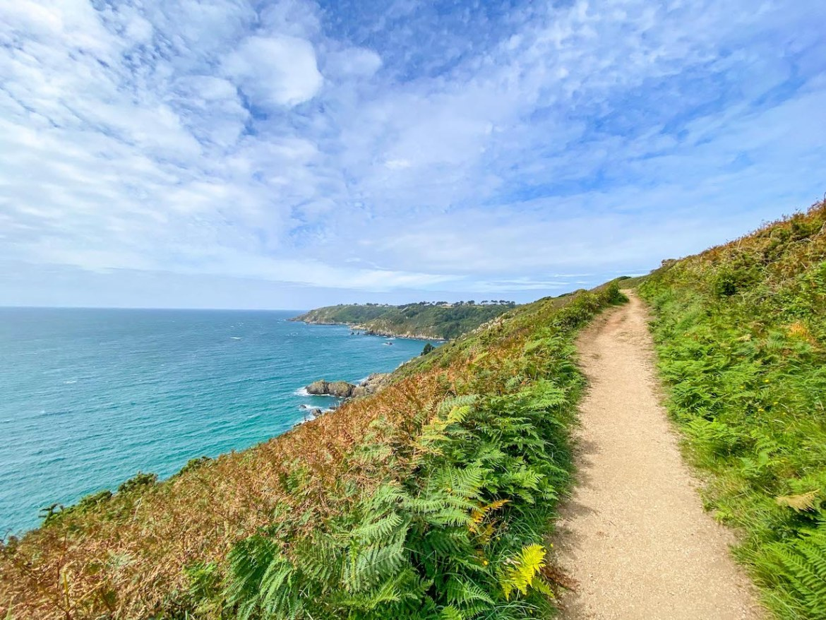 Things to do on Guernsey, Moulin Huet Bay Coastal Hike View